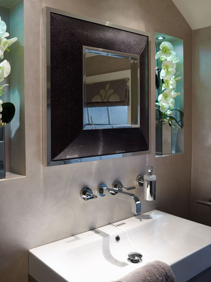 151 best small bathroom ideas images on pinterest for Bedroom mirror inspiration