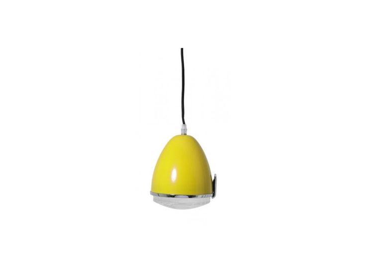 Lampa Wisząca Citroen żółta — Lampy wiszące Light&Living — sfmeble.pl #yellow #design #lamp