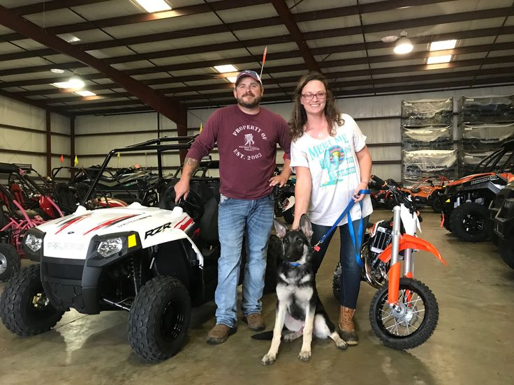Congratulations to Justin, Krystal and Apollo Nelson from Madison, GA for purchasing a 2017 Polaris RZR 170 and a 2017 KTM 50 SX from Hattiesburg Cycles. #polaris #ktm