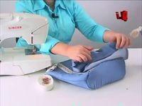 Videos de cómo hacer bolsos de tela - IMujer
