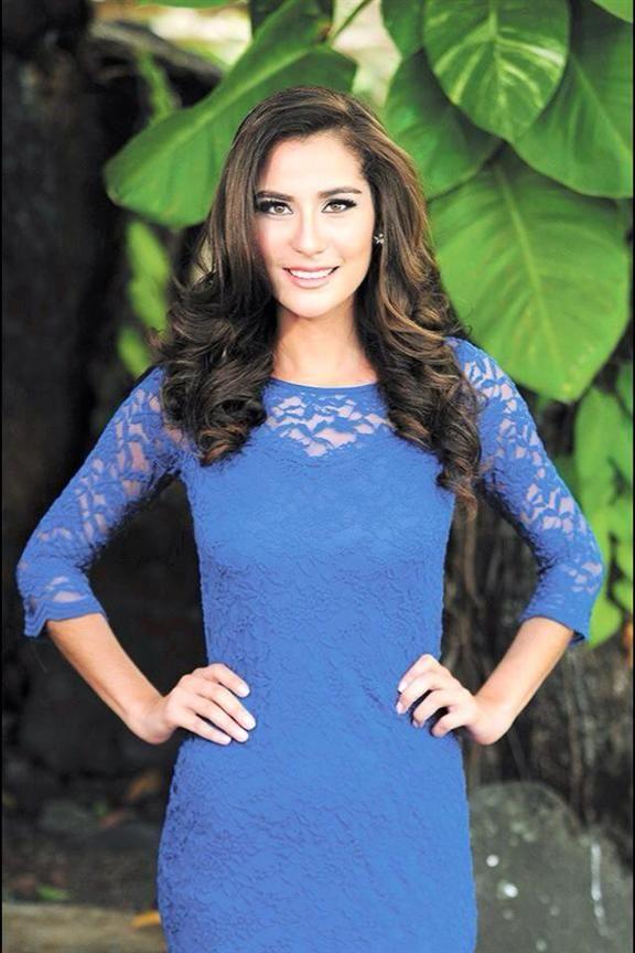 Daniela Torres Miss Nicaragua 2015 Contestant