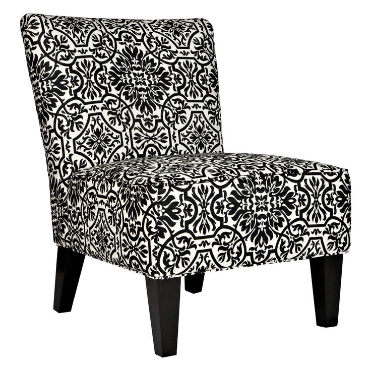Have to have it. angelo:HOME Davis Chair - Black  White Damask - $220.49 @hayneedle