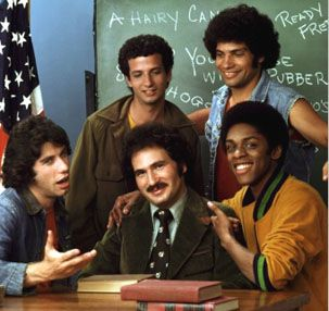 Welcome Back Kotter - my favorite was Vinnie Barbarino... wanted to punch Horschak :-)