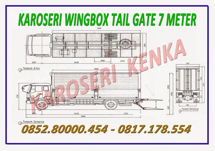 DEALER TRUCK dan KAROSERI WING BOX >> KAROSERI KENKA