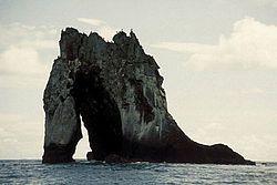 Islote El Viudo, ubicado al suroeste de Gorgona