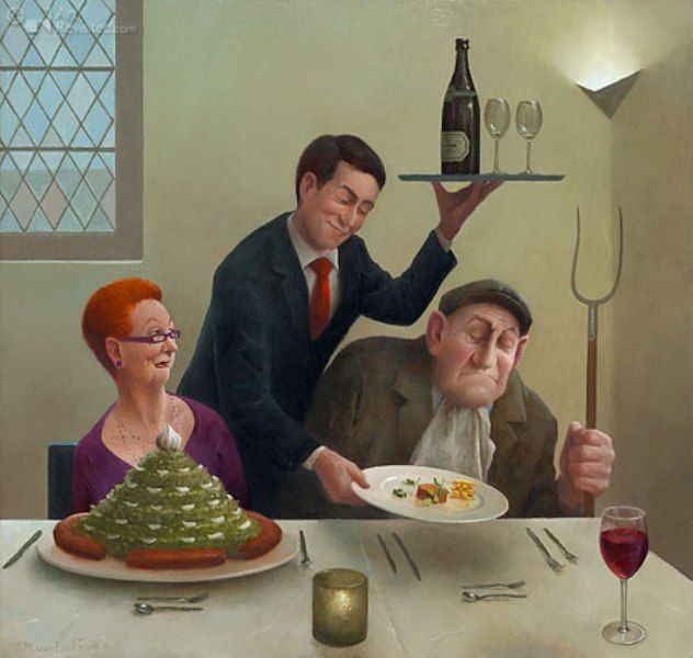 Marius van Dokkum, Dutch Artist and Illustrator
