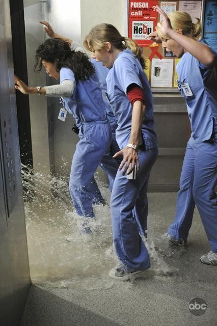 Still of Katherine Heigl, Sandra Oh and Ellen Pompeo in Anatomía de Grey