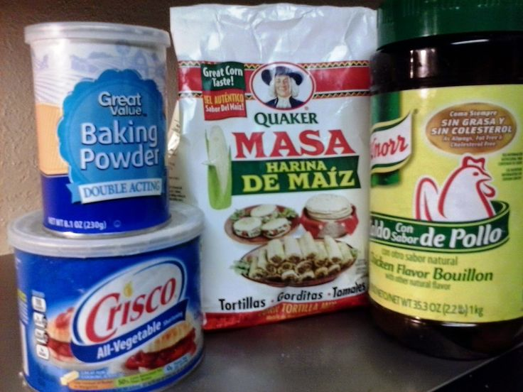MDelgado Images: Recipes Basic ingredients for Masa for tamales