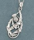 I love this Scottish Thistle pendant
