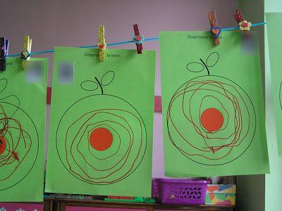 graphisme le rond dans la pomme                                                                                                                                                                                 Plus