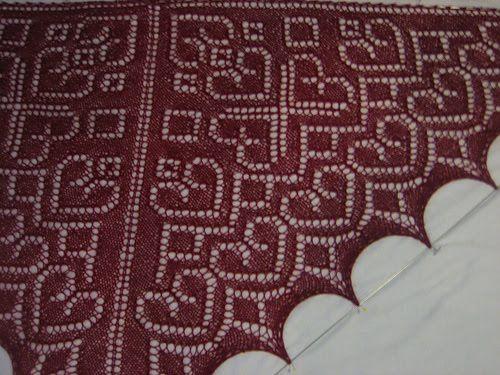 """Шали спицами. Схемы. / Вязание спицами / Вязание для женщин спицами. Схемы  """"Little Valentine"""""""