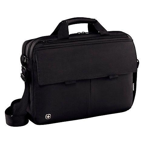 """£59.95 Buy Wenger Route 16"""" Laptop Messenger Bag Online at johnlewis.com"""
