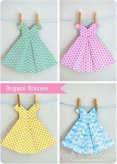 Les 25 meilleures id es de la cat gorie robes en papier sur pinterest v tements en papier - Robe en origami ...