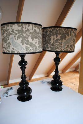 DIY lampshadesLampshades Covers, Shape Lamps, Lamps Shades, Handmade Lampshades, Vintage Wardrobe, Diy Lampshades, Newport Beach, Cockatoo Lamps, Beach Vintage
