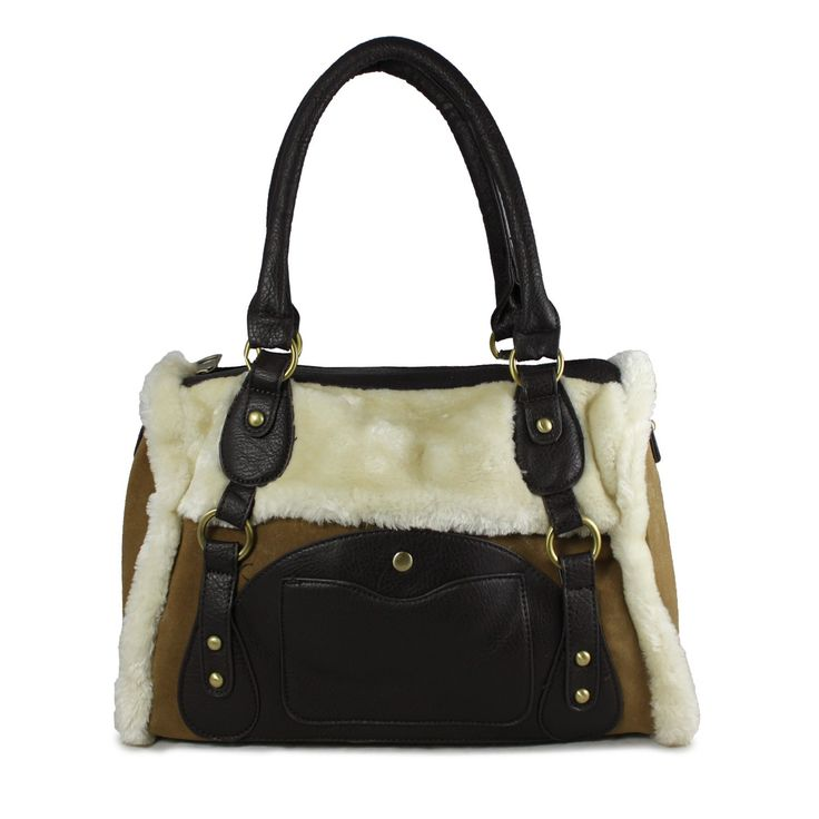 Furrrrrrrr it's no longer cold in here with this super cute AW15/16 faux fur tote bag. Available in tan and coffee colour live and direct from www.borsetta.london xx Hols xx