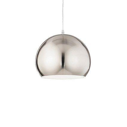 Ideal Lux függeszték - PANDORA SP1 NICKEL - lámpa, csillár, világítás, Vészi lámpa webáruház