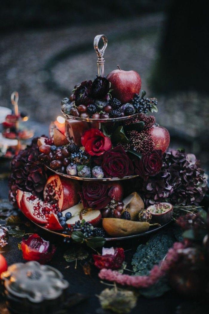 Hochzeit im Oktober – 69 Beispiele für Tischdekoration in herbstlichen Farben   – Hochzeitsdeko – Brautfrisuren – Hochzeitstisch dekorieren