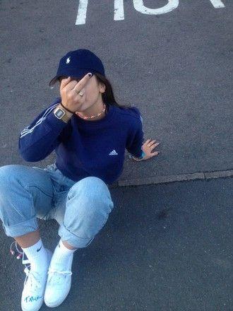 Girl Adidas Sweater Adidas Sweater Swetshirt Adidas