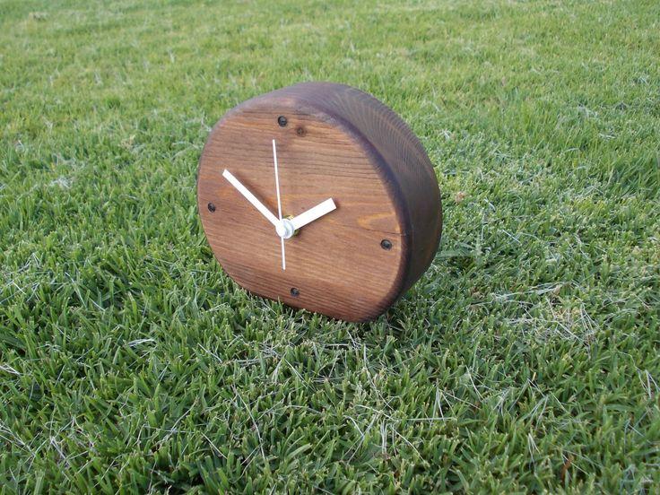 Modern-Minimal wood clock, Modern wooden clock, natural clock, round clock - pinned by pin4etsy.com