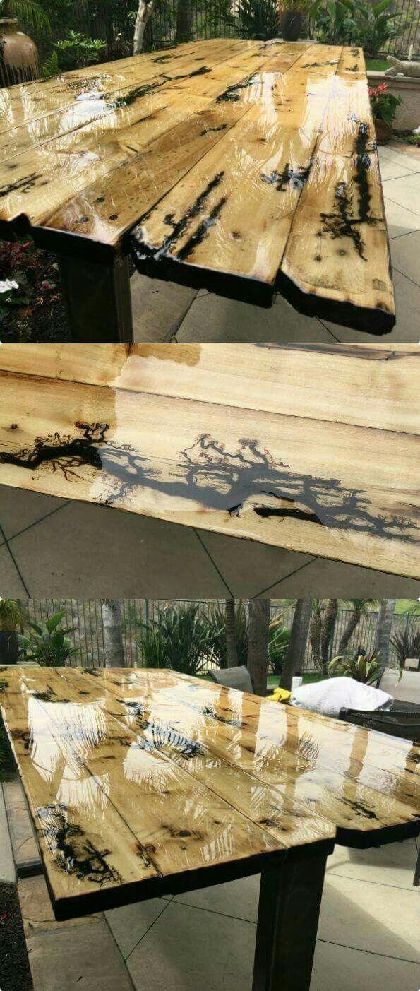 pingl par katie lewis sur misc pinterest r sine d coration int rieure et bois. Black Bedroom Furniture Sets. Home Design Ideas