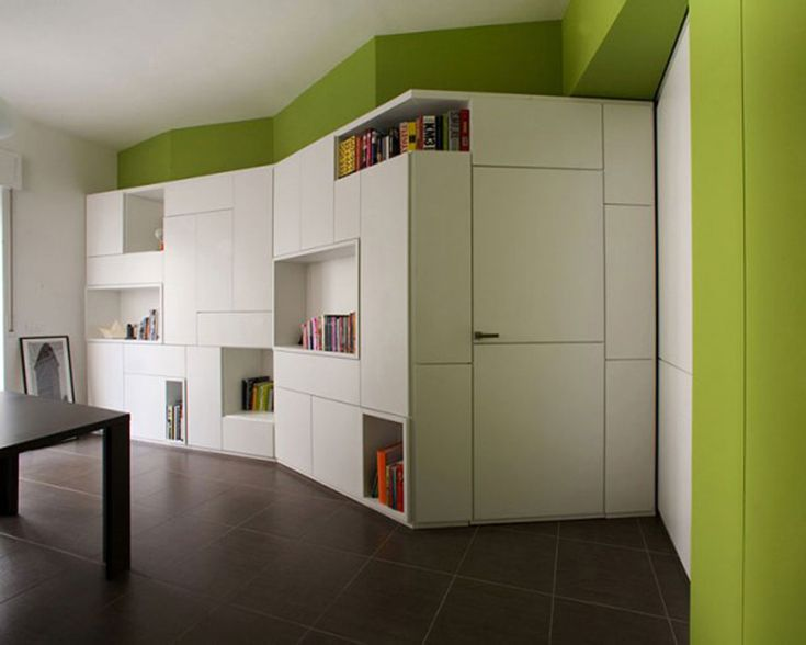 362 best images about small apartments on pinterest for Studio apartment storage ideas