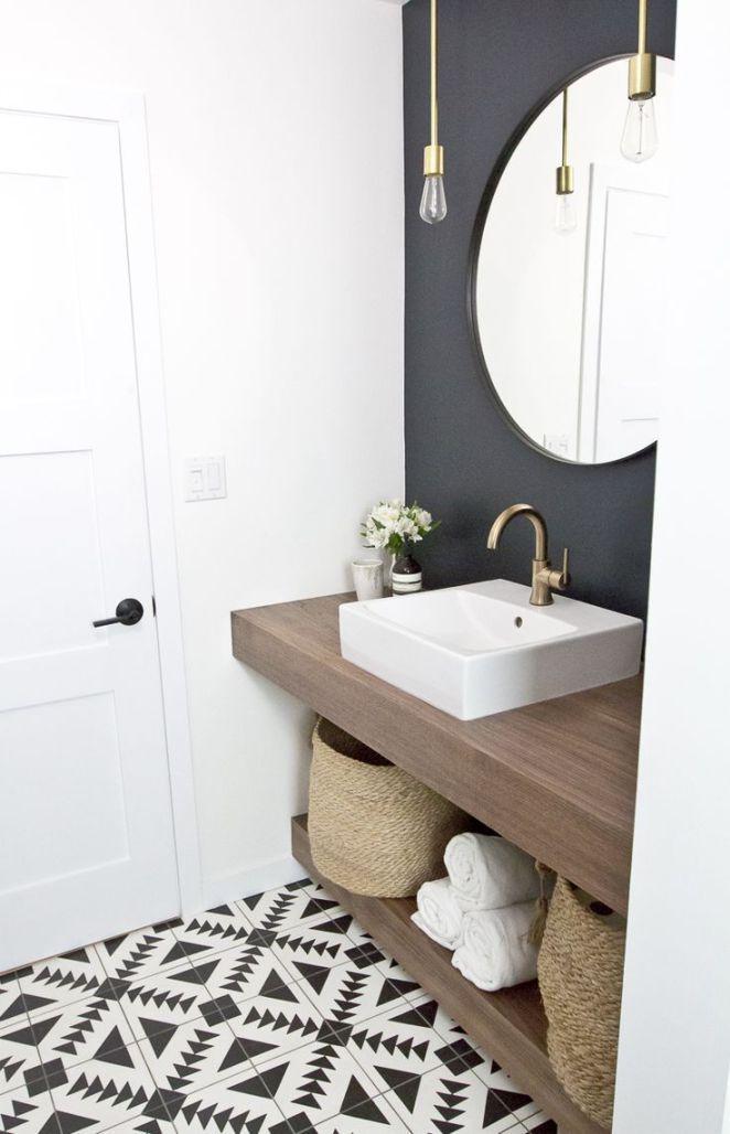Idée décoration Salle de bain Intérieur Aménagement Salle de Bain Vasque Idée