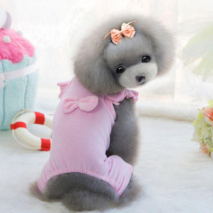 Одежды собаку в весна и осень щенок четыре весна лето одежда чашка собак