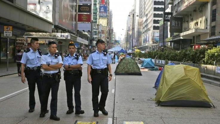 Hong Kong's Chief Executive CY Leung insists China will not change its mind on 2017 elections and says protests have