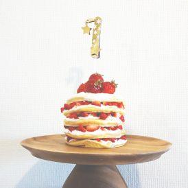 1歳の誕生日にもぴったり!簡単かわいいネイキッドケーキの作り方<br> by ARCH DAYS編集部