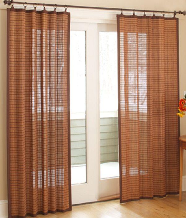 sliding door curtains door designs plans door design plans pinterest discover more ideas. Black Bedroom Furniture Sets. Home Design Ideas