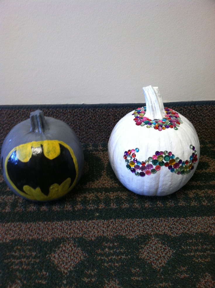 13 best jack o lanterns images on pinterest halloween - Charming kid halloween decoration with various batman pumpkin ...