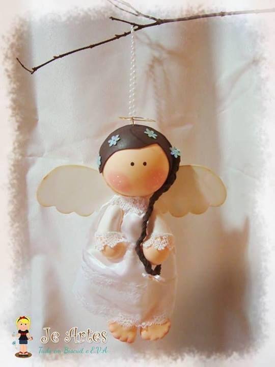 Mas en Goma Eva:fofuchas plabas angelitosadornos de navidad en foami para el arbolitoagelitos hechoos de goma evaangelitos navideños EN GOMA EVAmolde de angeles para comunion Share the post