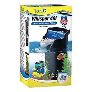 a whisper in tank filter 40i with bioscrubber for 20 40 gallon aquariums usa
