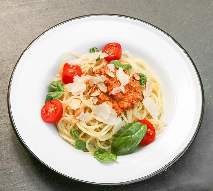 The Hungry Hounds— Tomato & Almond Pesto, Pesto Alla Trapanese
