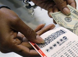 Powerball jackpot still growing, $94.000.000 now up for grabs