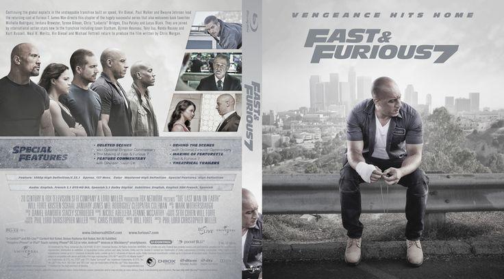 Furious 7 Blu-ray Custom Cover