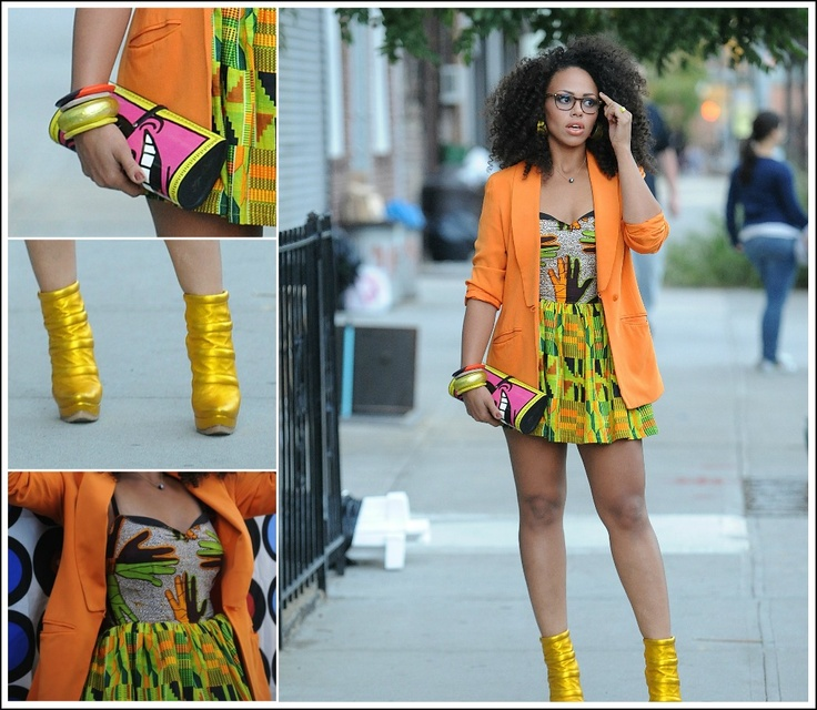 suffering from a major case of hair envy, not mention she's rocking a mean cantaloupe blazer  elle varner