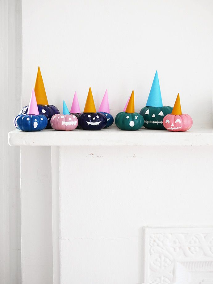 Painted Party Pumpkins | Handmade Charlotte