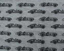 Stenzo tricot car grey melange