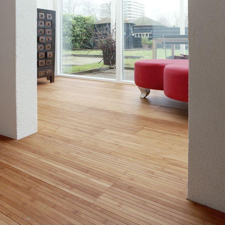 Parquet Bamboo Caramel con supporto in lattice. #pavimenti in #parquet #bamboo #flooring #wood