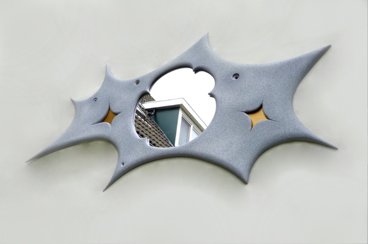 New Fun n Funky Mirror - sculptural artifact and collectors item...