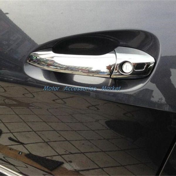 awesome Great New Chrome Handle Cover Trim For Mercedes-Benz B C E ML GLK CLA GLA Class 2017/2018