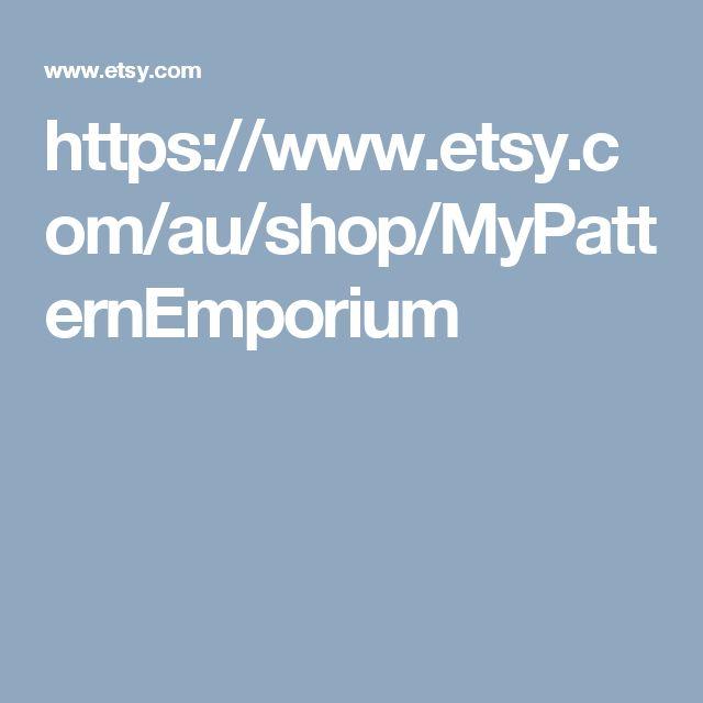 https://www.etsy.com/au/shop/MyPatternEmporium