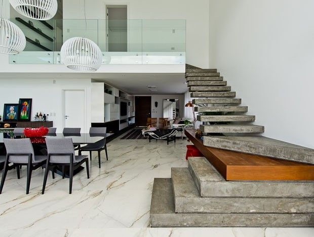 25 melhores ideias sobre casa minimalista no pinterest for Sala casa minimalista