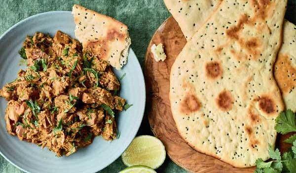 Nadiya Hussain's Jackfruit Curry with No-yeast Naan   BBC ...