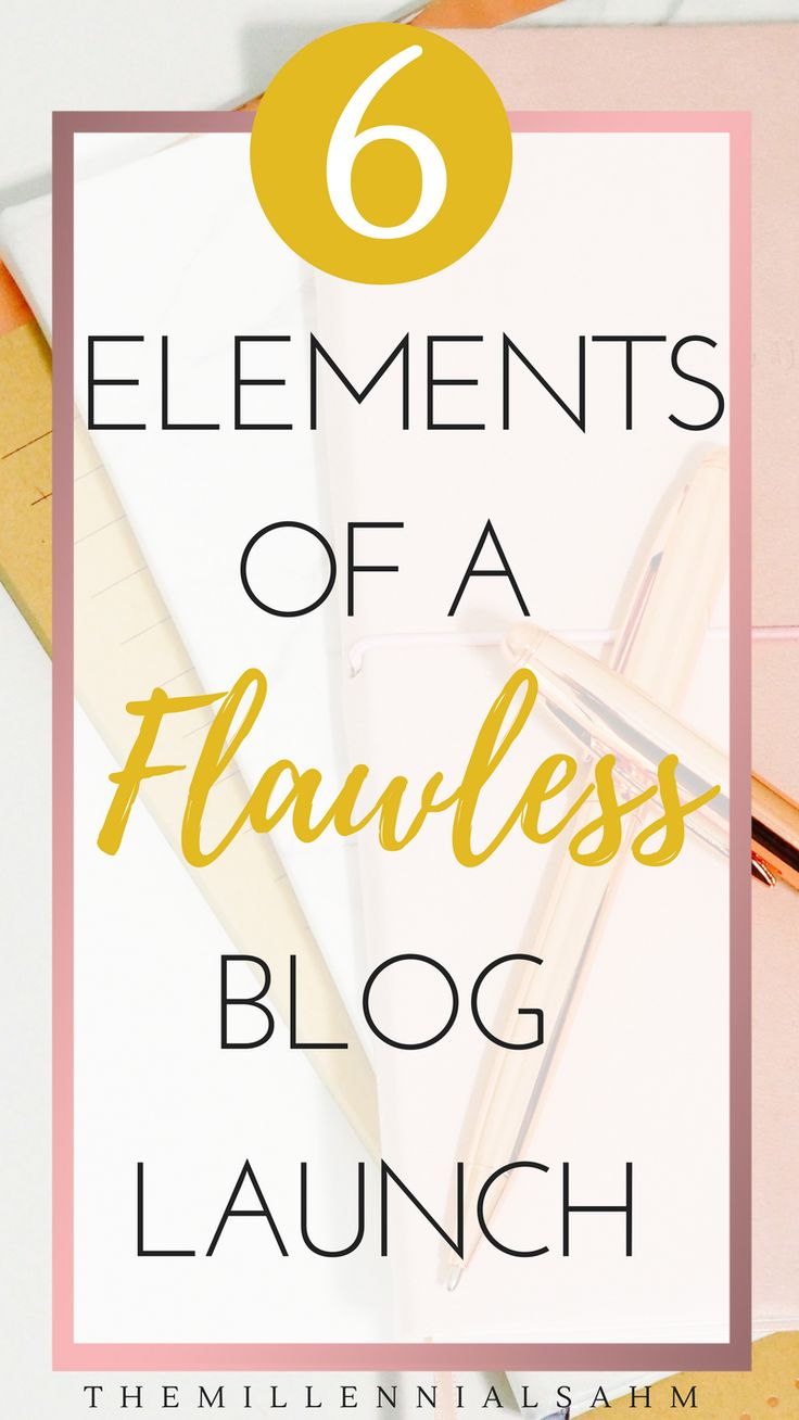 Here are a couple of steps that you can take to make launching your blog a lot less stressful so that you can enjoy the process and reap the benefits. Blogging For Beginners, Blog Launch, How To Start A Blog, Start A Mom Blog, How To Blog, Content Marketing