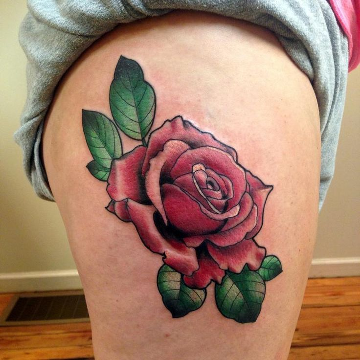 44 Awesome Hip Rose Tattoos: 37 Best Feminine Traditional Tattoos Images On Pinterest