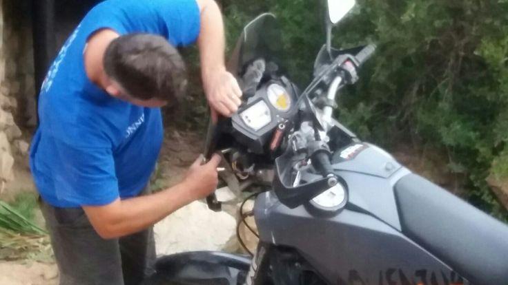 KTM running repairs...... again