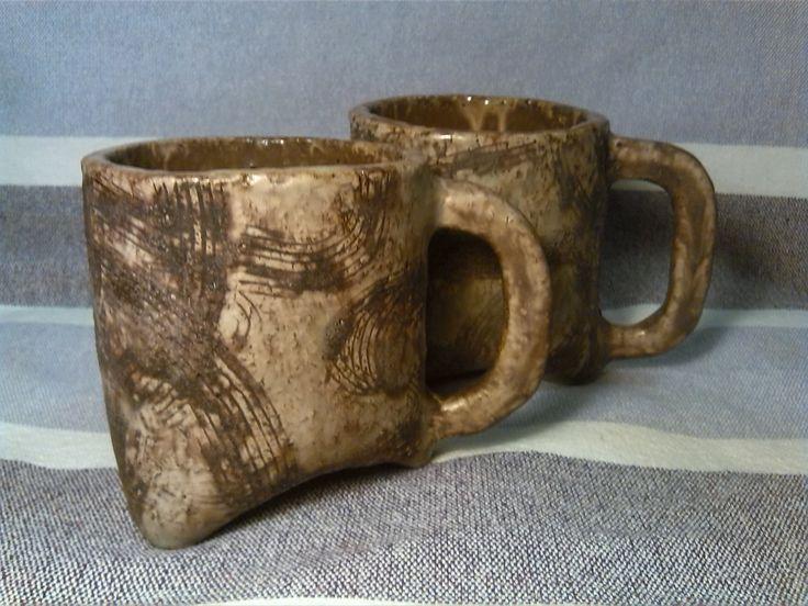 #Ceramic mugs. Ceramiczne kubki.