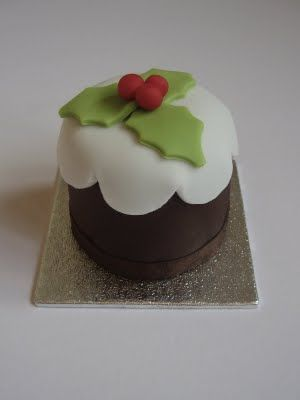 Cute mini Christmas Cakes